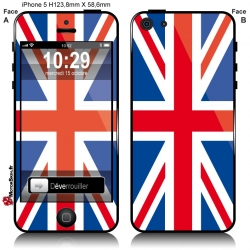 Sticker Drapeau Anglais iPhone
