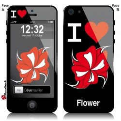 Sticker iPhone Flower