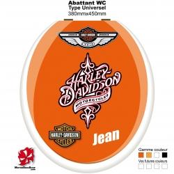 Sticker abattant WC Harley Davidson