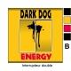 Sticker prise Dark Dog interrupteur universel