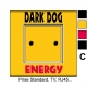 Sticker prise Dark Dog interrupteur universel