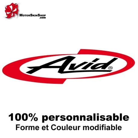 Sticker vélo Avid