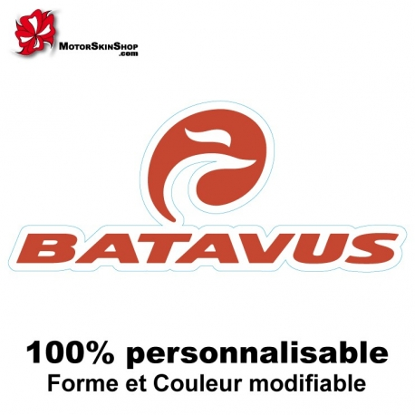 Sticker vélo Batavus