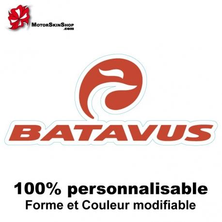Sticker vélo Batavus