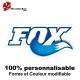 Sticker vélo Fox