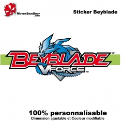 Sticker Beyblade Vforce