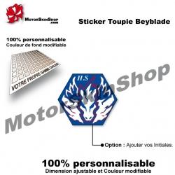 Sticker Beyblade Cosmic Pegasus