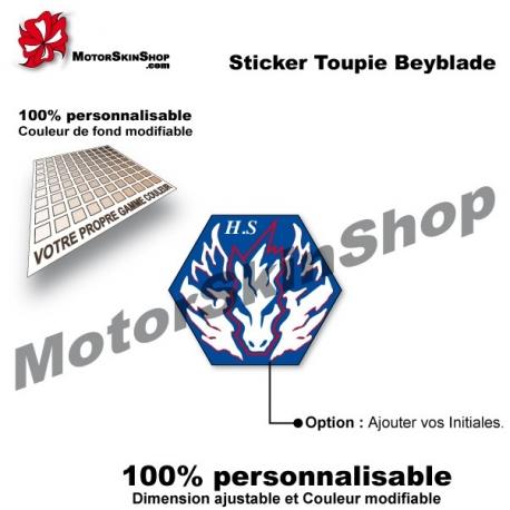 Sticker toupie Beyblade Cosmic Pegasus