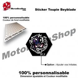 Sticker Beyblade Diablo Nemesis