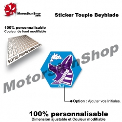 Sticker Beyblade Mercury Anubis