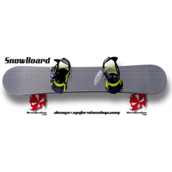 Sticker SnowBoard Carbonne personnalisable