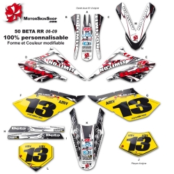 Kit déco 50 Beta Supermotard RR 06-09