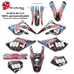 Kit déco 50 Beta RR 06-09