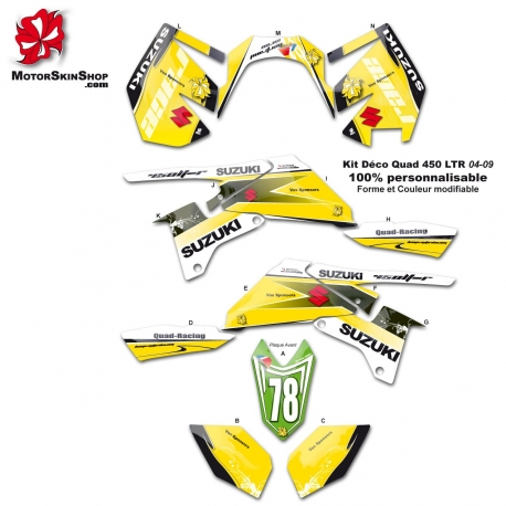 Kit déco Quad LTR Suzuki