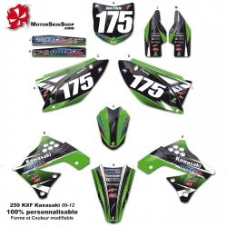 Kit déco KXF 250 Kawasaki