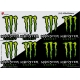 Sticker Monster Energy planche