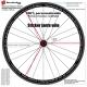 Impression de votre fichier sticker jante vélo
