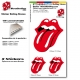 Pochette Sticker Rolling Stones