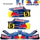 Kit déco Karting KG Unico F1 Red Bull Renault