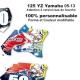 Kit déco Moto 125 YZ Yamaha