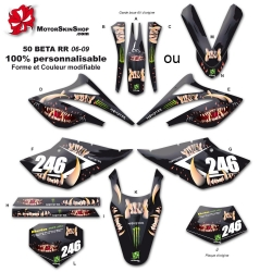 Kit déco 50 Beta RR 06-09 Monster Motorskin