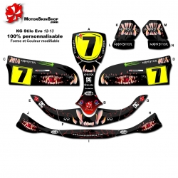 Kit déco Karting Stilo Evo 12-13 Monster Motorskin
