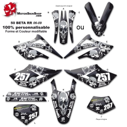 Kit déco 50 Beta RR 06-09 Metal Mulisha
