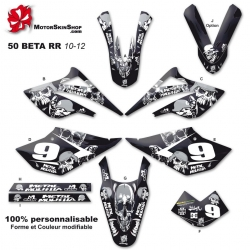 Kit déco 50 Beta RR 10-12 Metal Mulisha