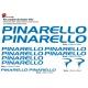 Sticker cadre vélo Kit Pinarello
