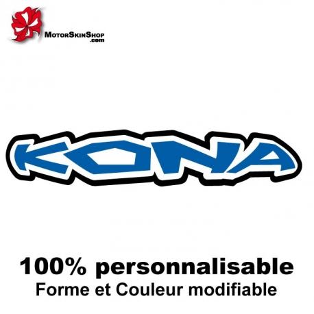 Sticker vélo Kona