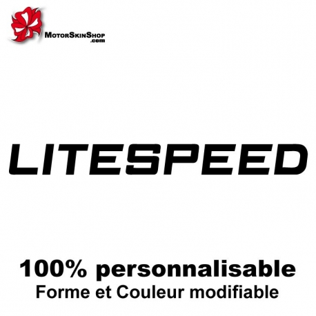 Sticker vélo Litespeed