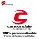 Sticker vélo Cannondale