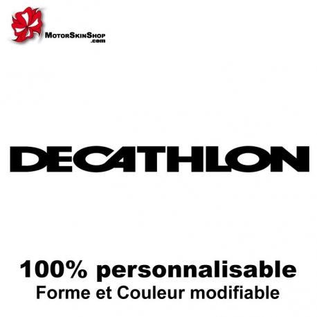 Sticker vélo Decathlon