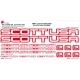 Sticker Kit cadre vélo XXL Scott USA