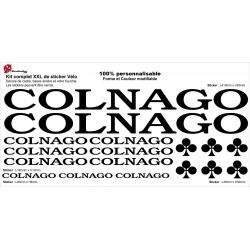 Sticker cadre vélo Colnago XXL
