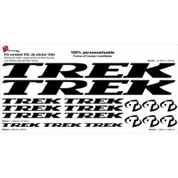 Sticker cadre vélo Trek XXL