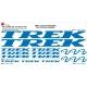 Sticker Kit cadre vélo XXL Trek