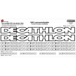 Sticker cadre vélo Decathlon XXL