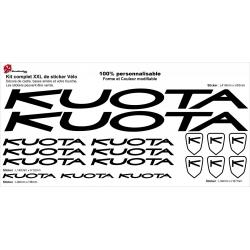 Sticker cadre vélo XXL Kuota