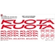 Sticker Kit cadre vélo XXL Kuota