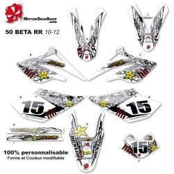 Kit déco 50 Beta RR 10-12 Tribal étoile 50CC à Boite