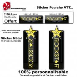 Sticker fourche vélo VTT étoile