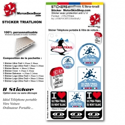 Sticker Ultra Trail du Mont Blanc personnalisable