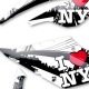Kit déco 50 Beta RR 10-12 I Love New York