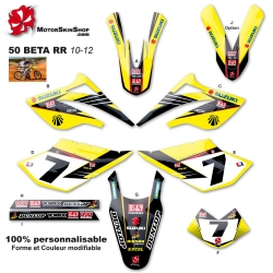 Kit déco 50 Beta RR 10-12 replica Stewart