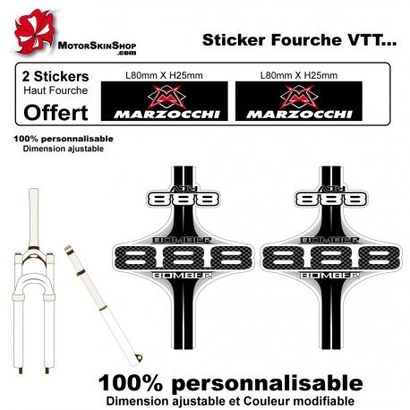 Sticker Fourche Vélo Marzocchi VTT