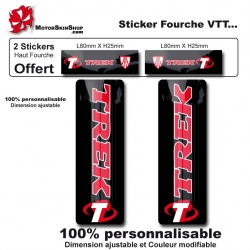 Sticker Fourche Vélo Grand Trek VTT
