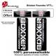 Sticker fourche vélo VTT Boxxer Noir Rock Shox Sram