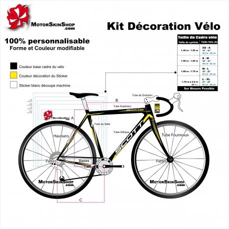 Kit décoration Vélo Scott