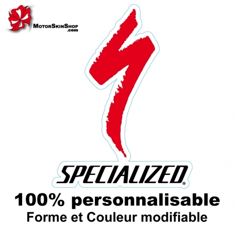 Sticker vélo Specialized